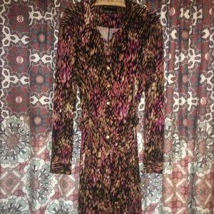 Lesley Fay stretch wrap dress.